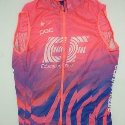 Gilet coupe-vent EF-EDUCATION FIRST (taille XS)