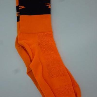 Socquettes DEFEET oranges (taille L)