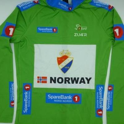 Maillot vert équipe de NORVEGE/ARCTIC RACE 2021 (taille M)